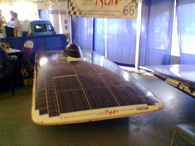 Carro solar de la Universidad de McGill